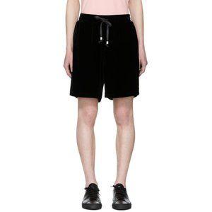 Stolen Girlfriends Club Black Velvet Volley Shorts